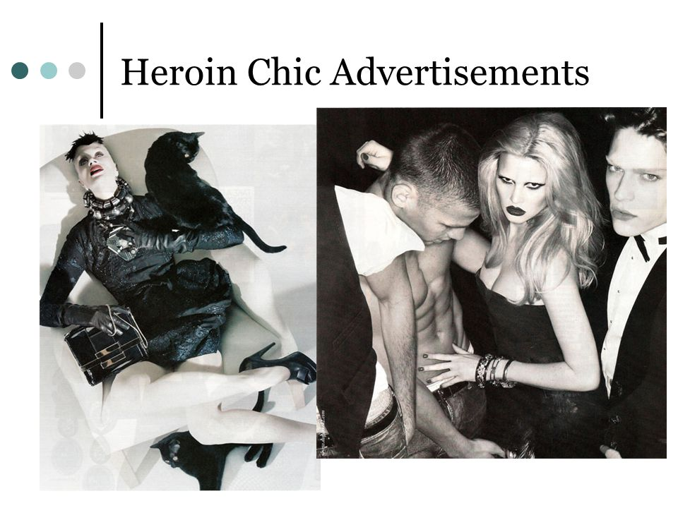 Heroin Chic Advertisements
