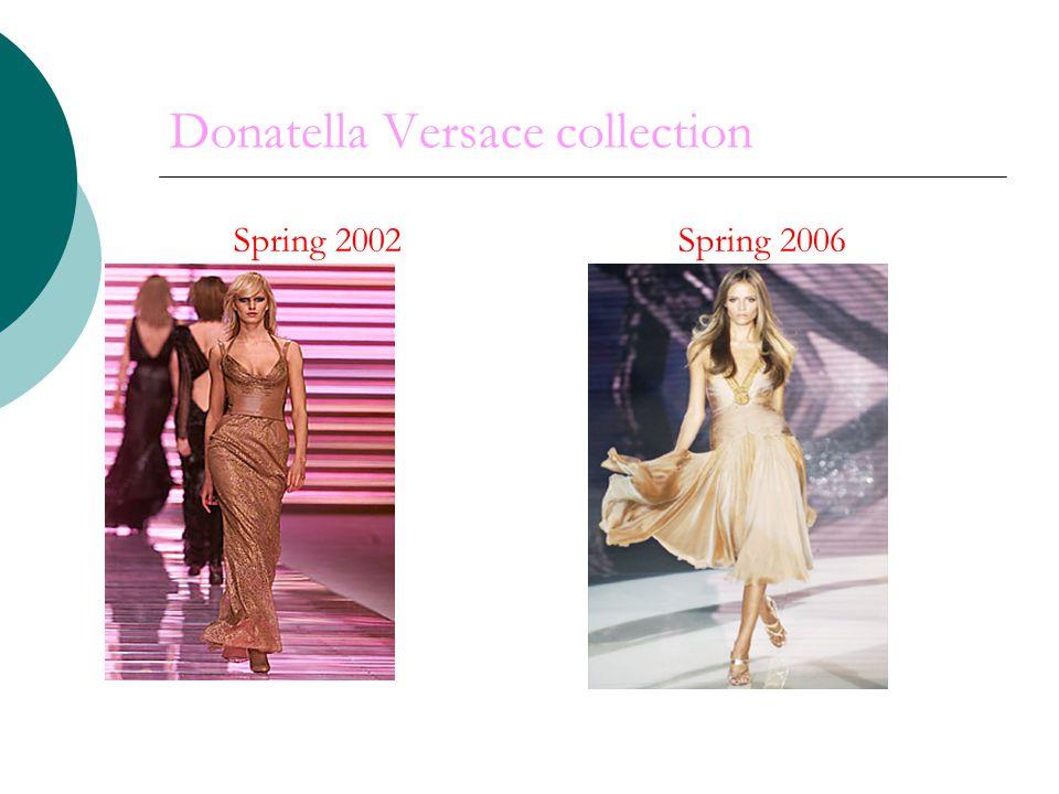 Donatella Versace collection