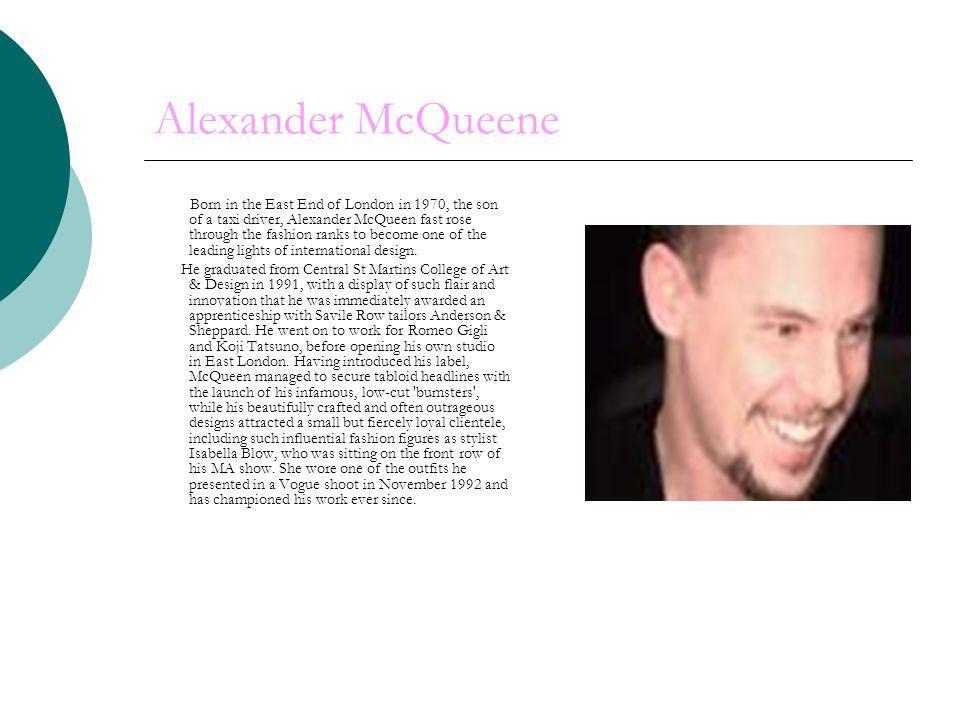 Alexander McQueene