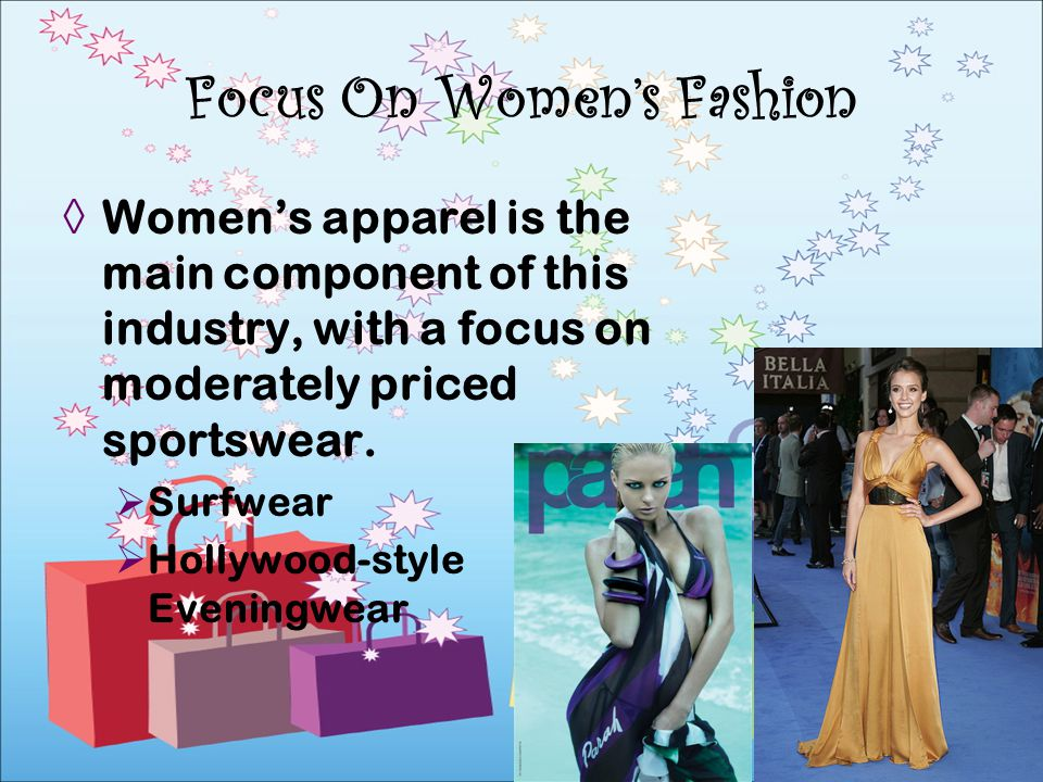 Focus On Women's Fashion