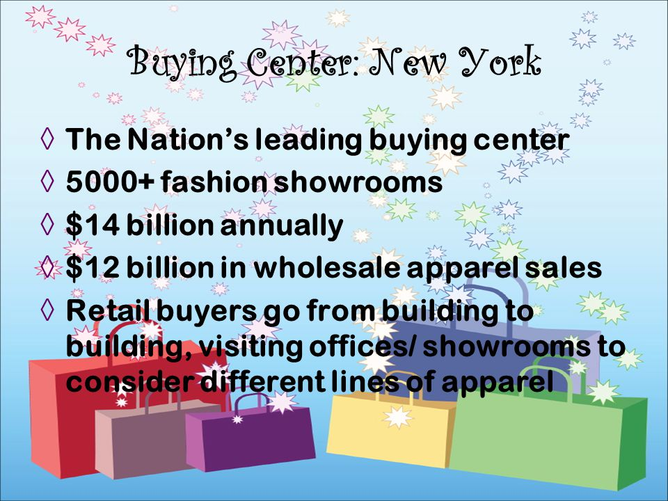 Buying Center: New York