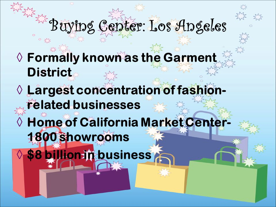 Buying Center: Los Angeles