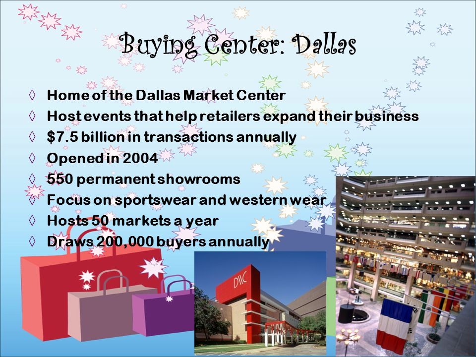 Buying Center: Dallas Home of the Dallas Market Center