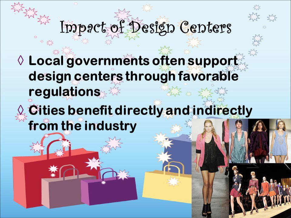 Impact of Design Centers
