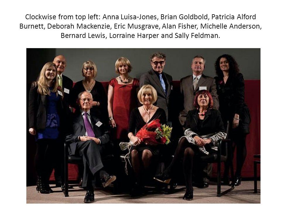 Clockwise from top left: Anna Luisa-Jones, Brian Goldbold, Patricia Alford Burnett, Deborah Mackenzie, Eric Musgrave, Alan Fisher, Michelle Anderson, Bernard Lewis, Lorraine Harper and Sally Feldman.