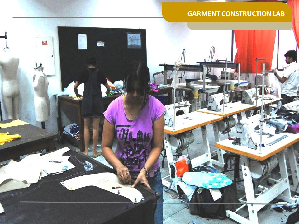 GARMENT CONSTRUCTION LAB