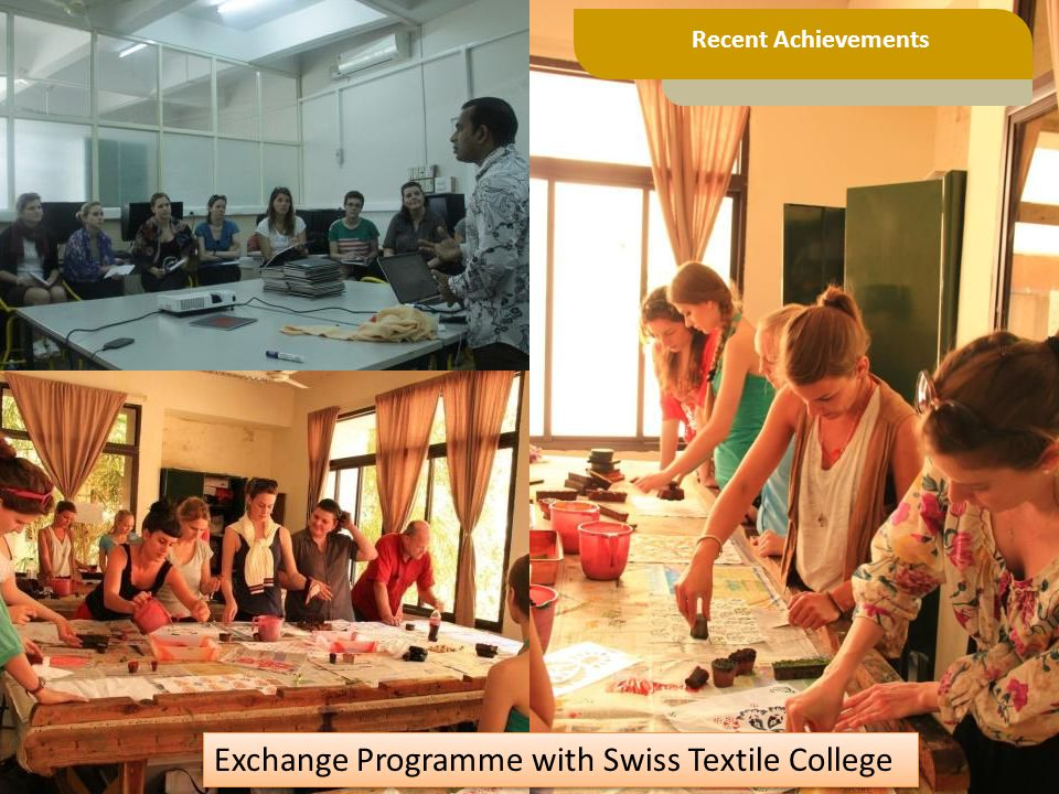 Exchange Programme with Swiss Textile College