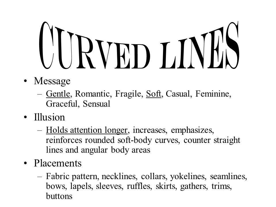 Curved Lines Message Illusion Placements