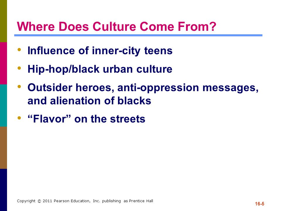 Where Does Culture Come From