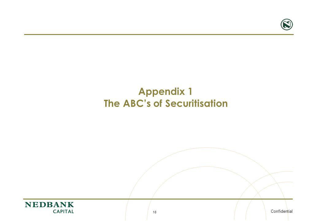 The ABC's of Securitisation
