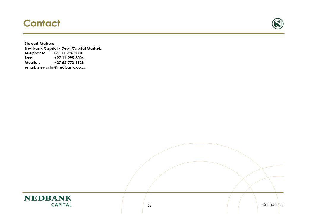 Contact Stewart Makura Nedbank Capital - Debt Capital Markets