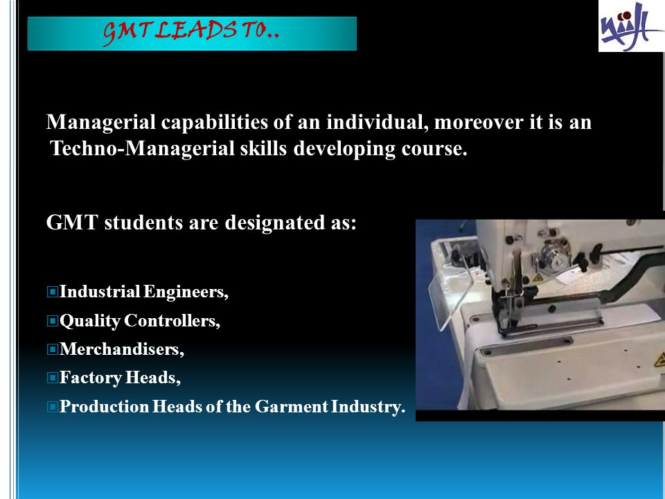 GMT students are designated as: