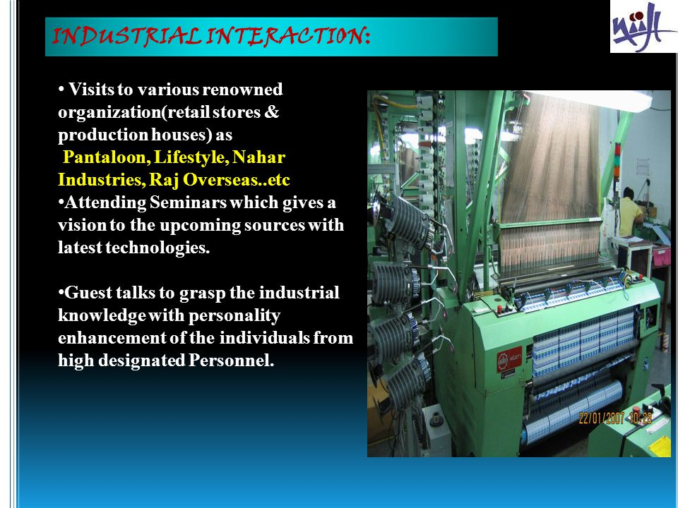 INDUSTRIAL INTERACTION: