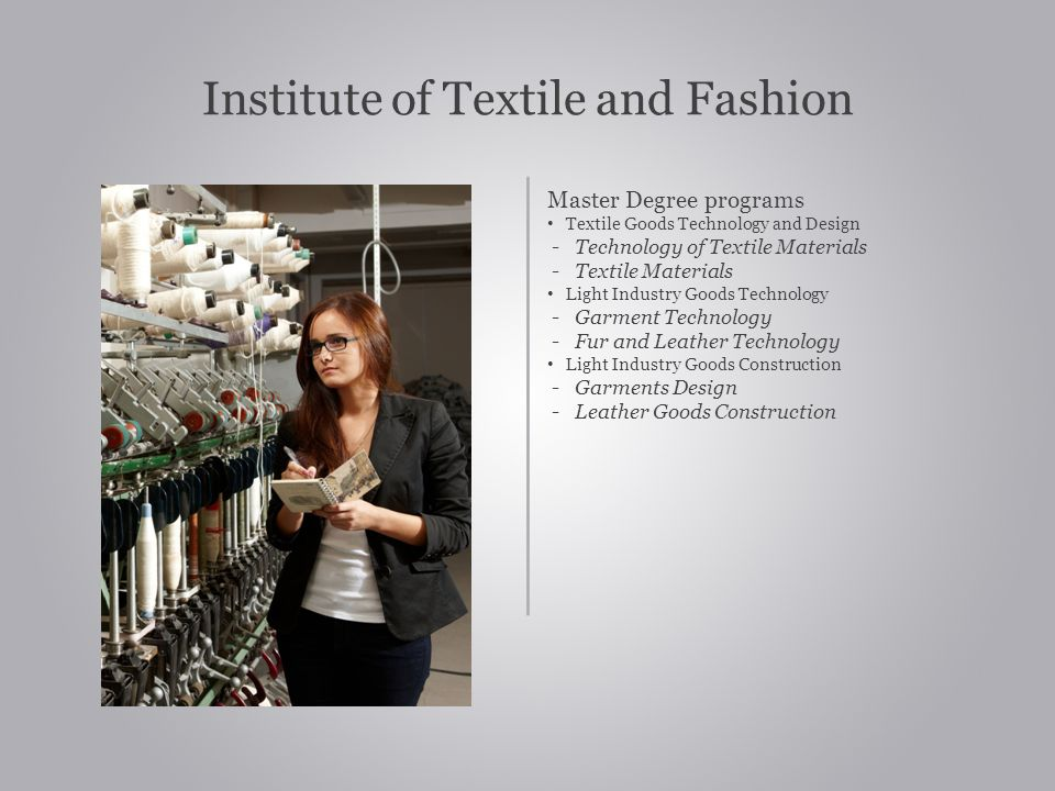 Institute of Textile and Fashion