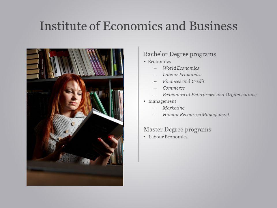 Institute of Economics and Business