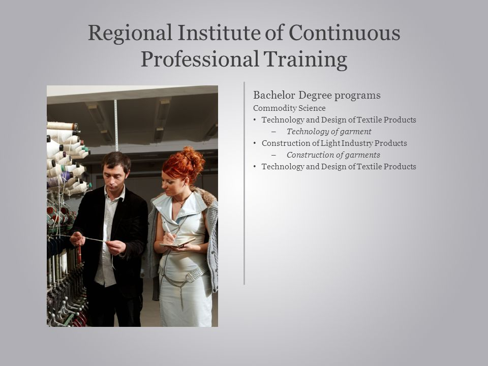 Regional Institute of Continuous Professional Training