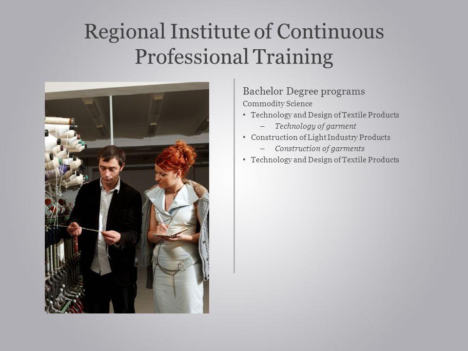 Regional Institute of Continuous Professional Training