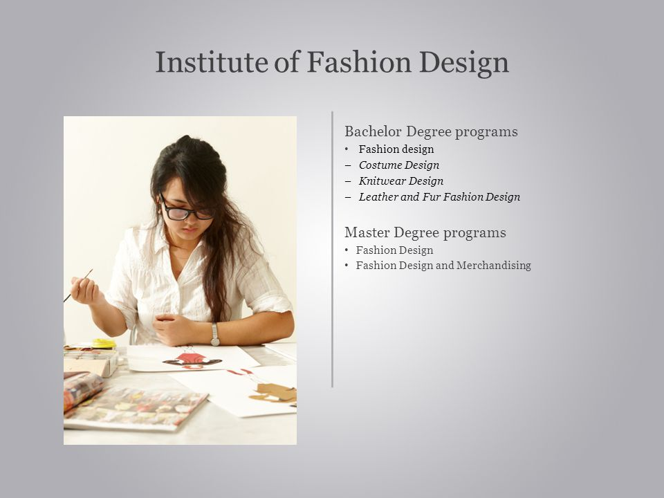 Institute of Fashion Design