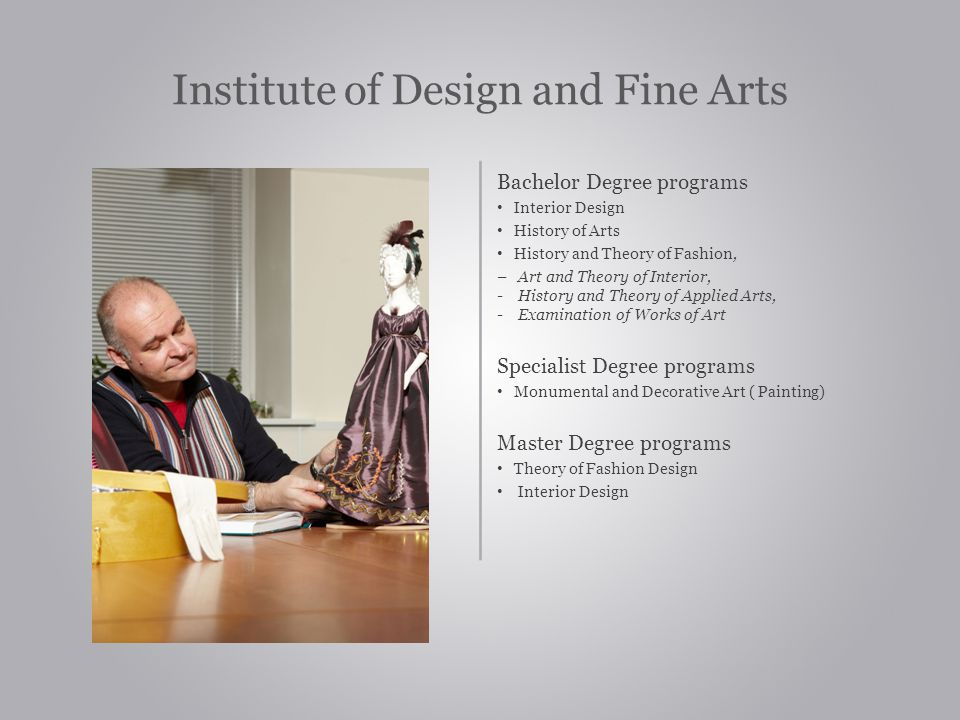 Institute of Design and Fine Arts