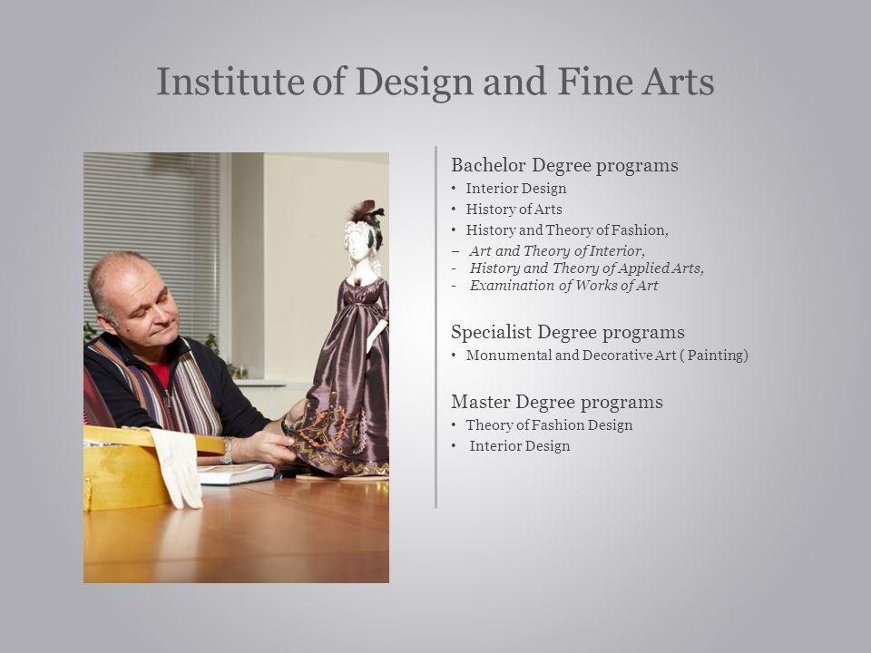 Institute of Design and Fine Arts