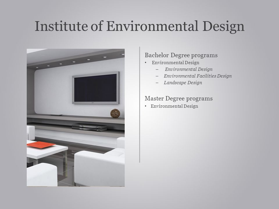 Institute of Environmental Design