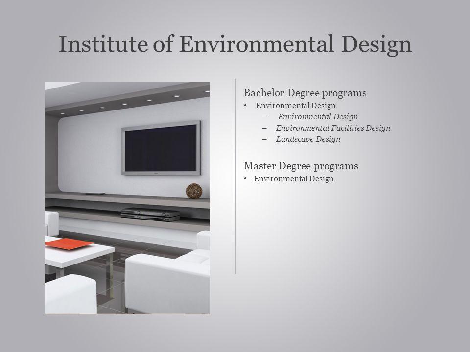 Institute of Environmental Design