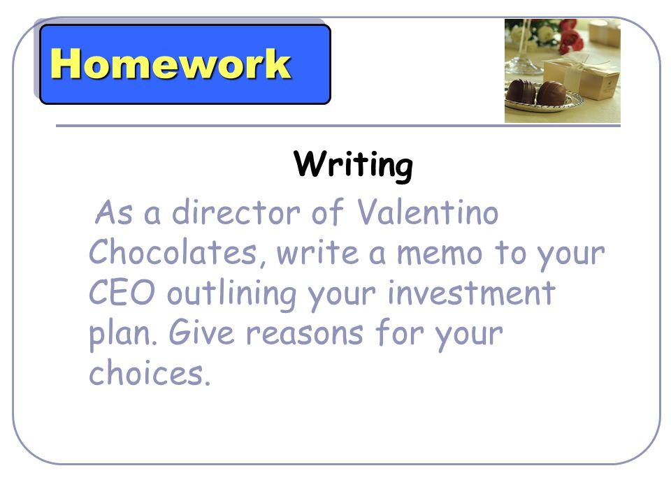 Homework Writing.