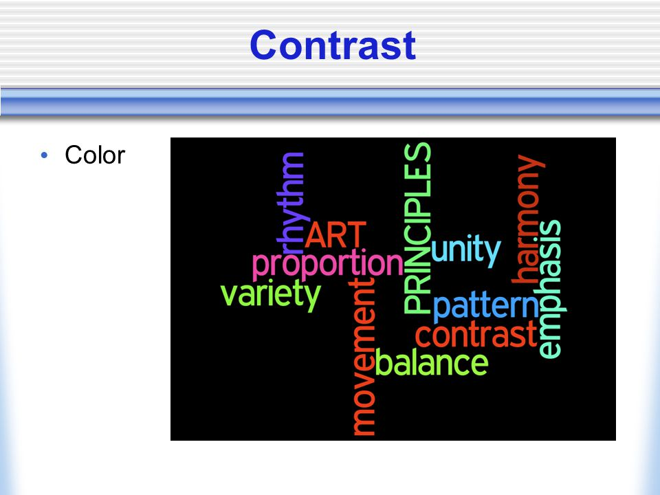 Contrast Color