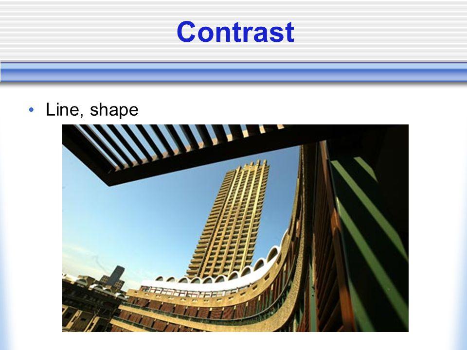 Contrast Line, shape