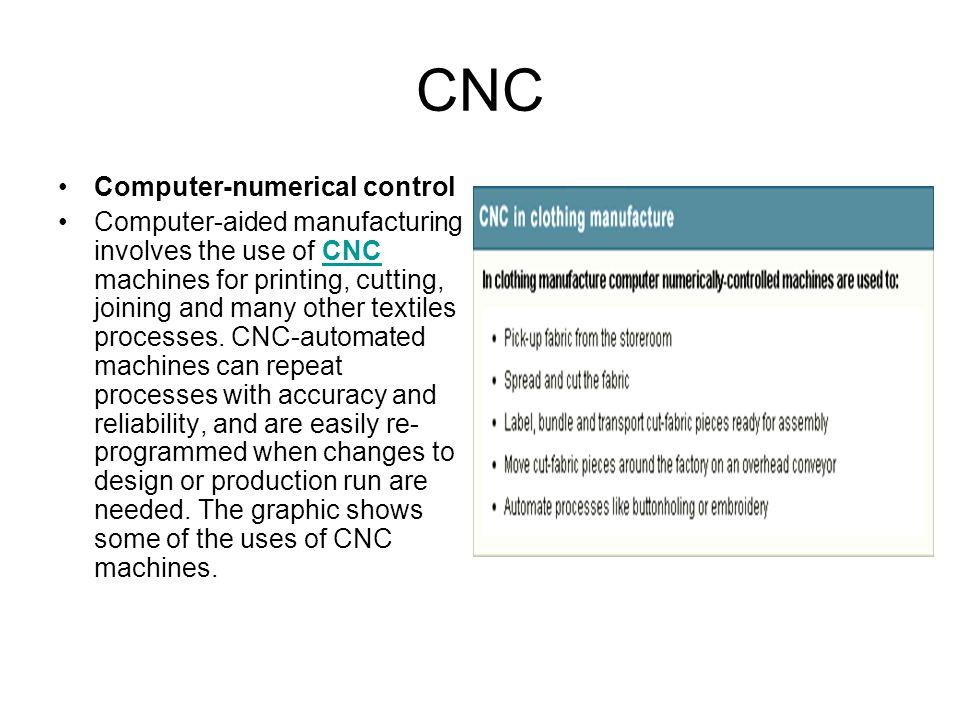 CNC Computer-numerical control