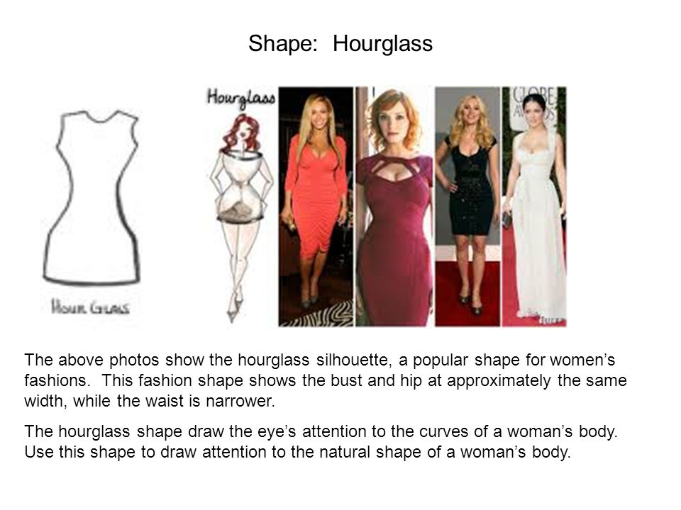 Shape: Hourglass