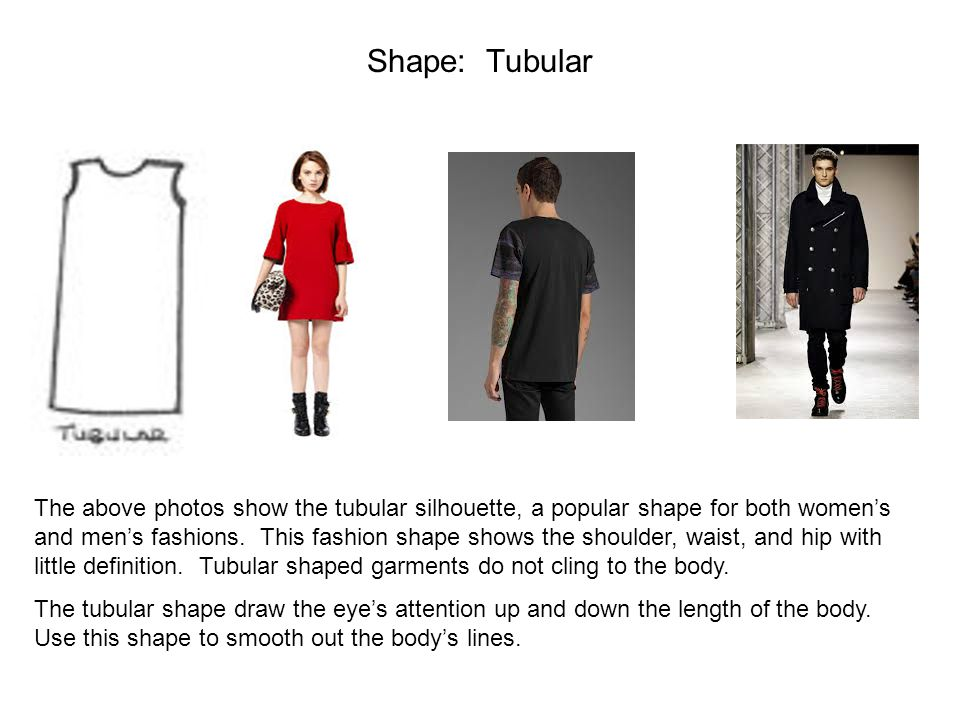 Shape: Tubular