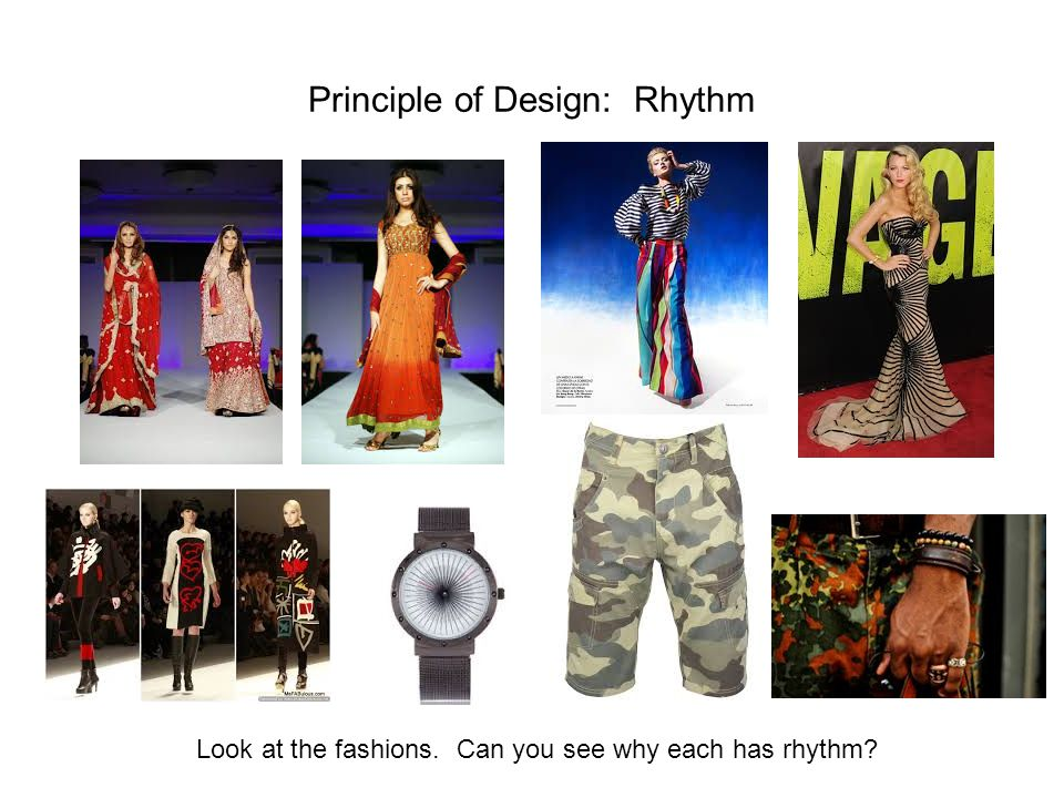 Principle of Design: Rhythm