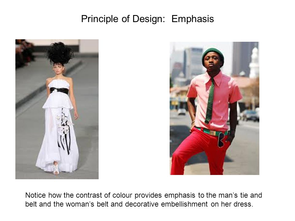 Principle of Design: Emphasis