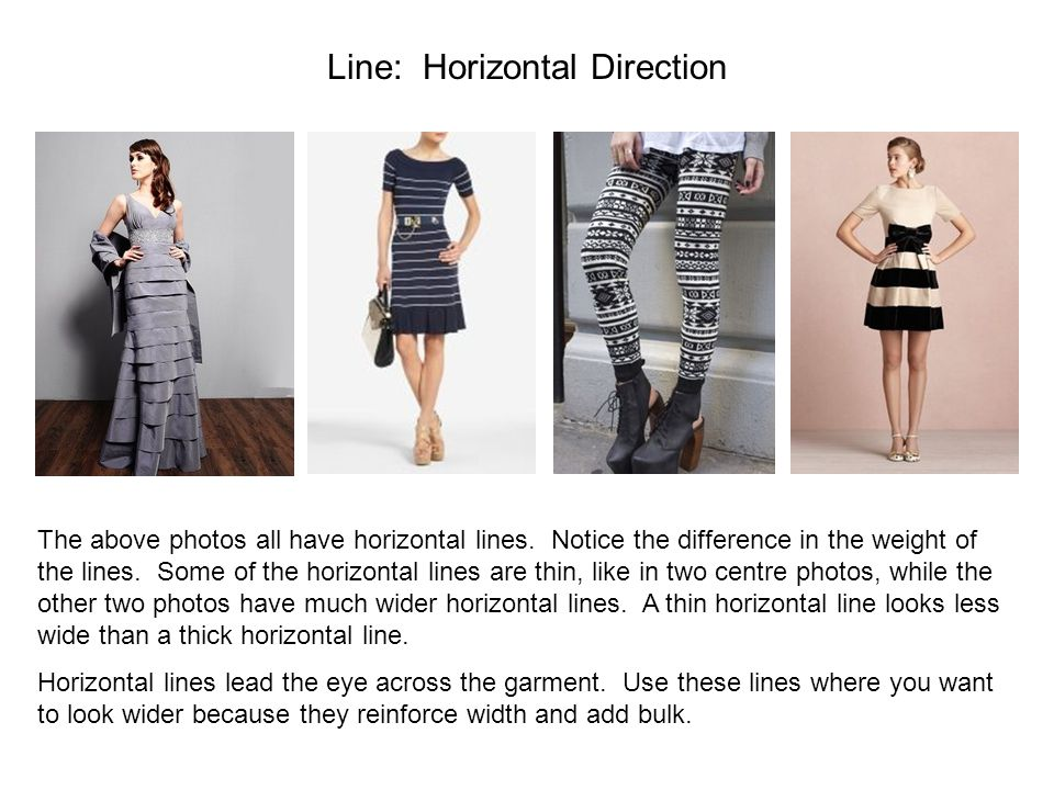 Line: Horizontal Direction