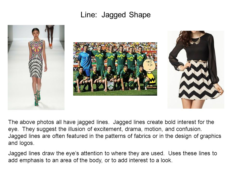 Line: Jagged Shape