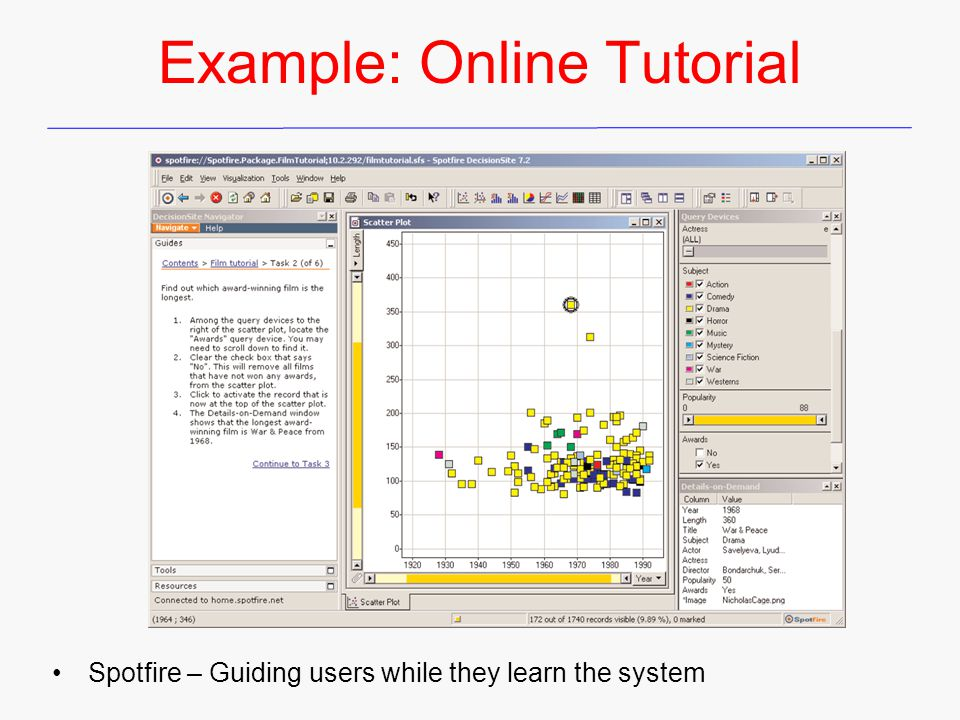 Example: Online Tutorial