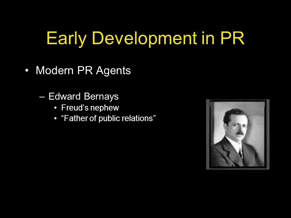 Early Development in PR