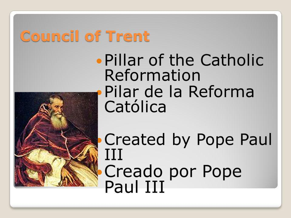 Creado por Pope Paul III