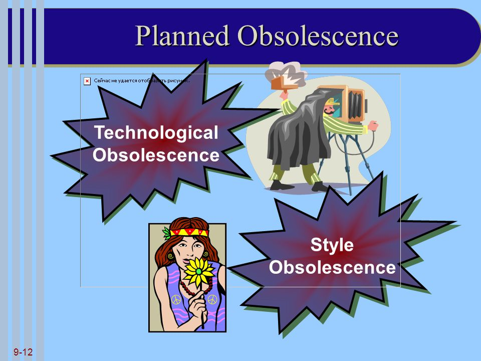Planned Obsolescence Technological Obsolescence Style Obsolescence