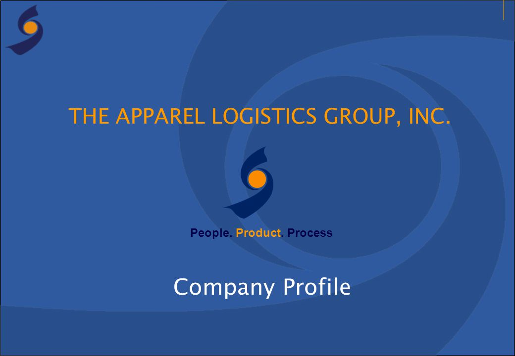 THE APPAREL LOGISTICS GROUP, INC.