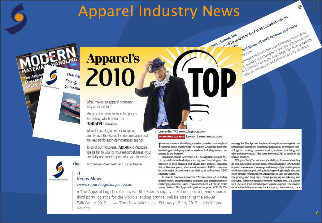 Apparel Industry News