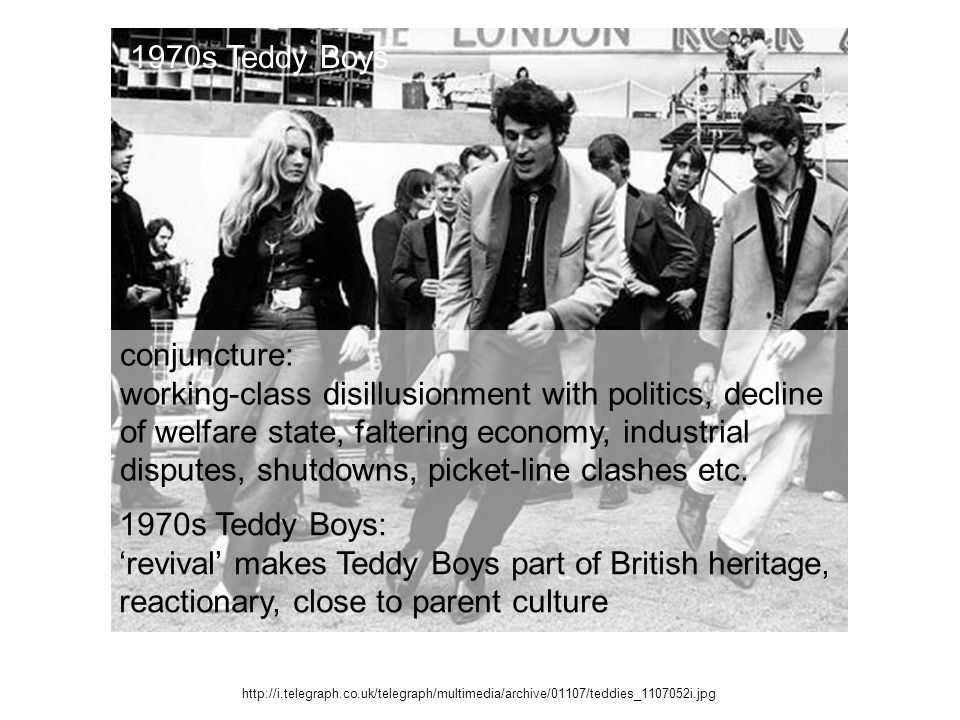 'revival' makes Teddy Boys part of British heritage,