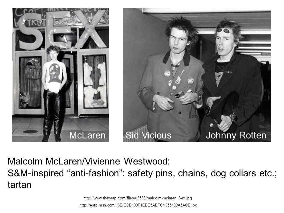 Malcolm McLaren/Vivienne Westwood:
