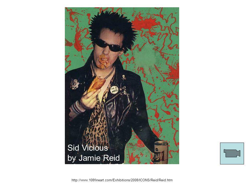 Sid Vicious by Jamie Reid