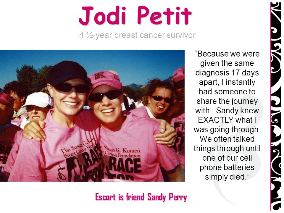 4 ½-year breast cancer survivor