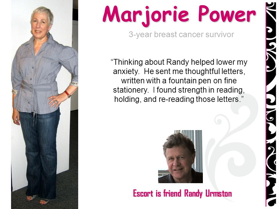 3-year breast cancer survivor