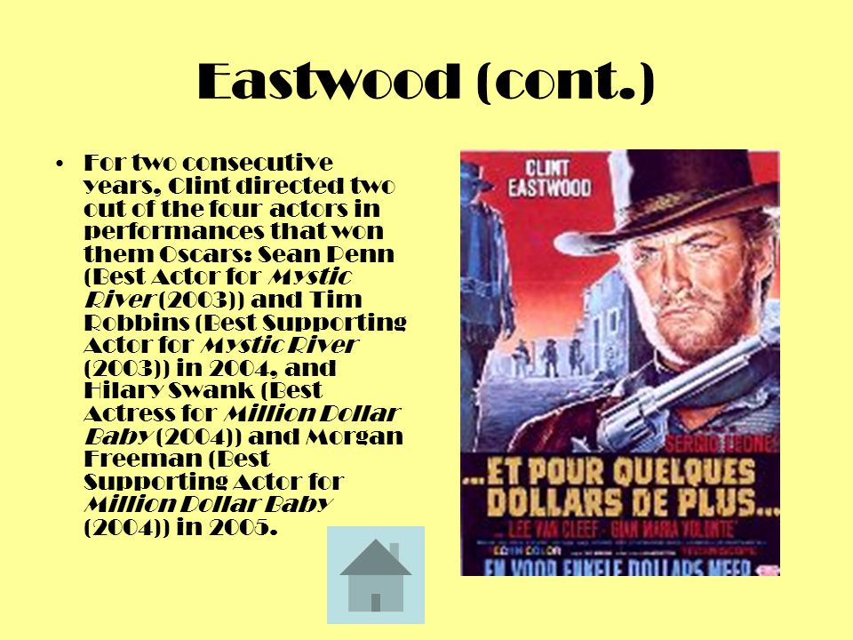 Eastwood (cont.)