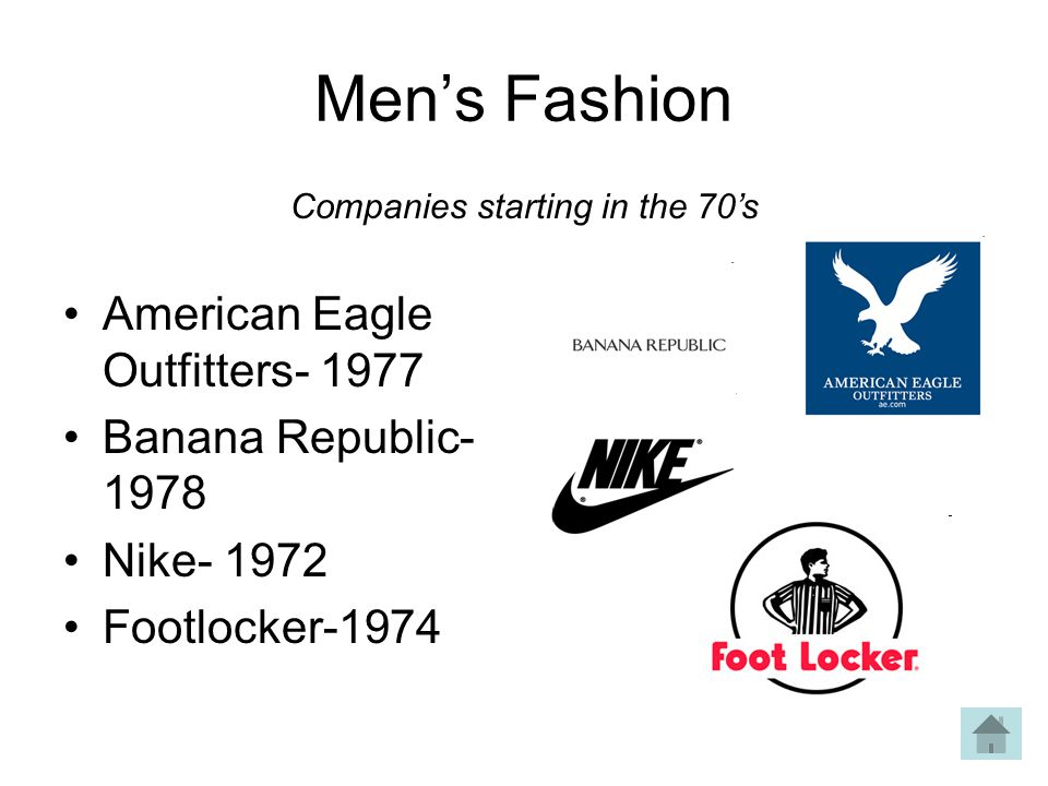 Companies starting in the 70's