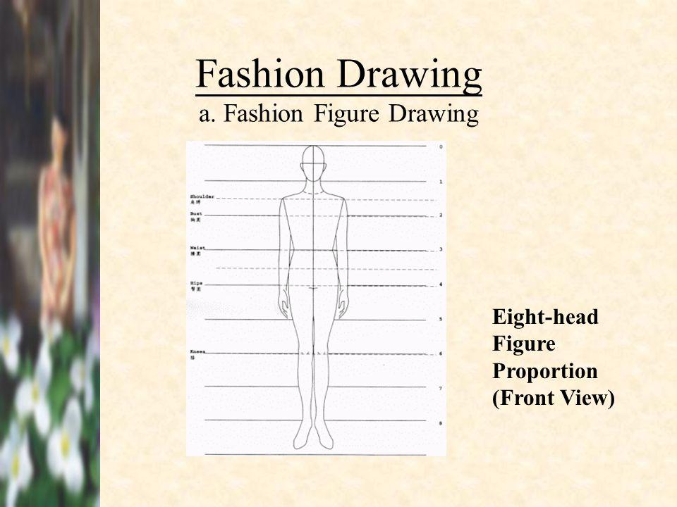 Fashion Drawing a. Fashion Figure Drawing